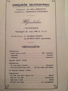 Dagskrá 26. mars 1946